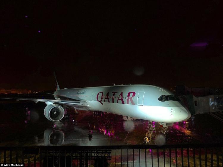 Chuyên cơ A350-1000 còn cung cấp dịch vụ Internet cáp quang tốc độ cao cho hành khách.