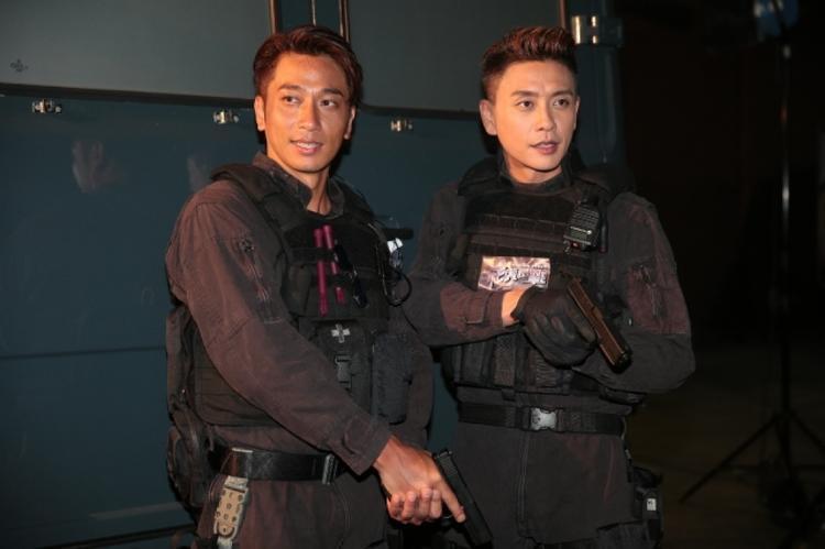 Miêu Kiều Vỹ, Huỳnh Tông Trạch, Ngô Trác Hy chiến đấu cùng nhau trong Phi hổ cực chiến
