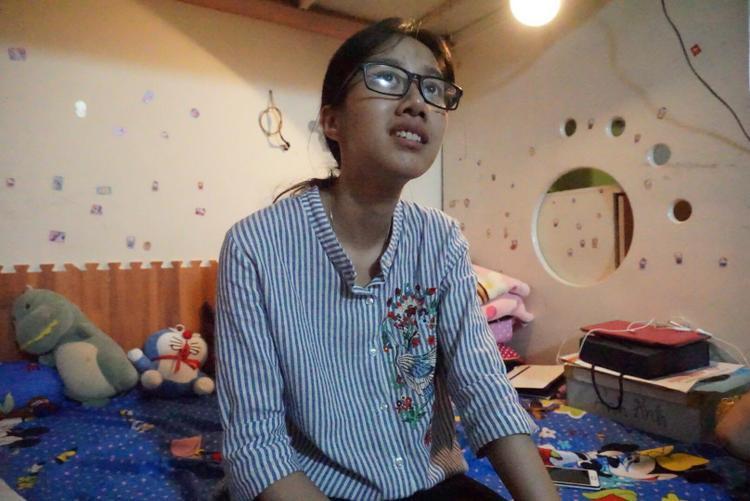 Chị Dương luôn hạnh phúc, tự hào về con.