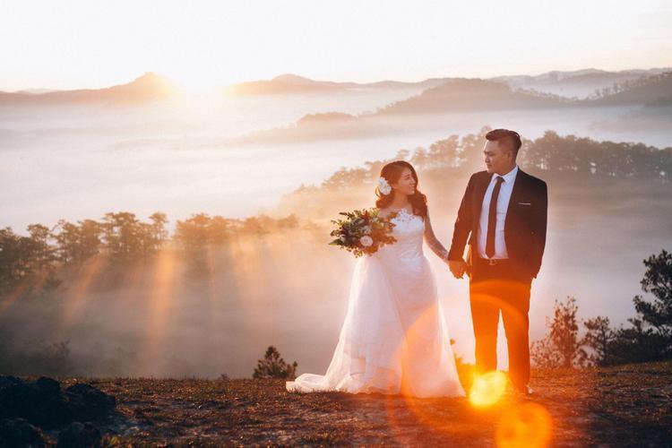 Xuýt xoa trước bộ ảnh cưới đẹp ngất ngây của chàng mập và nàng minhon