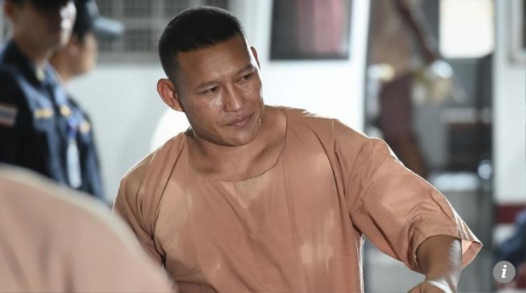 Xaysana Keopimpha bị bắt giữ vào hồi tháng 1/2017. Ảnh SCMP