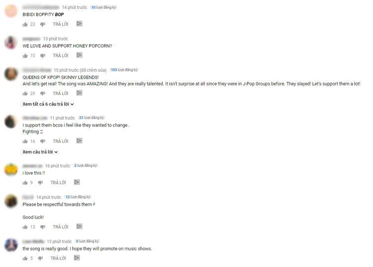 Ca khúc này đang thu về những phản hồi rất tích cực.