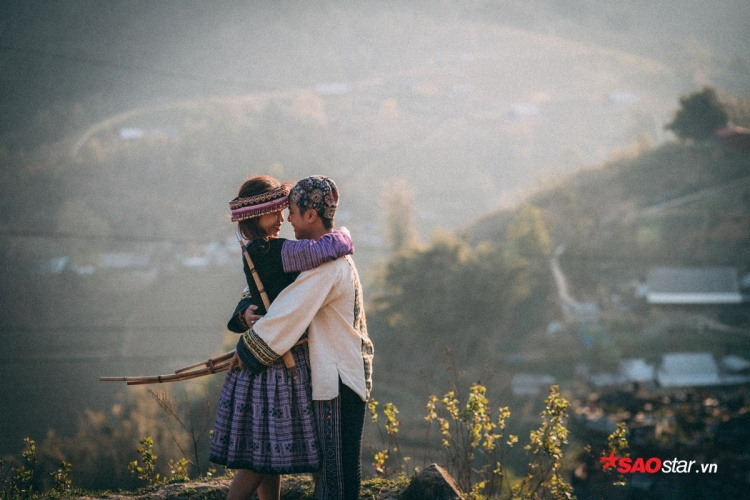 Cả hai quyết định lặn lội từ Đồng Nai đến Sapa để ghi dấu ấn tình yêu. Ngoài ra những hình ảnh ấn tượng của cặp đôi này còn được chụp lại ở Đà Lạt và Hà Nội.