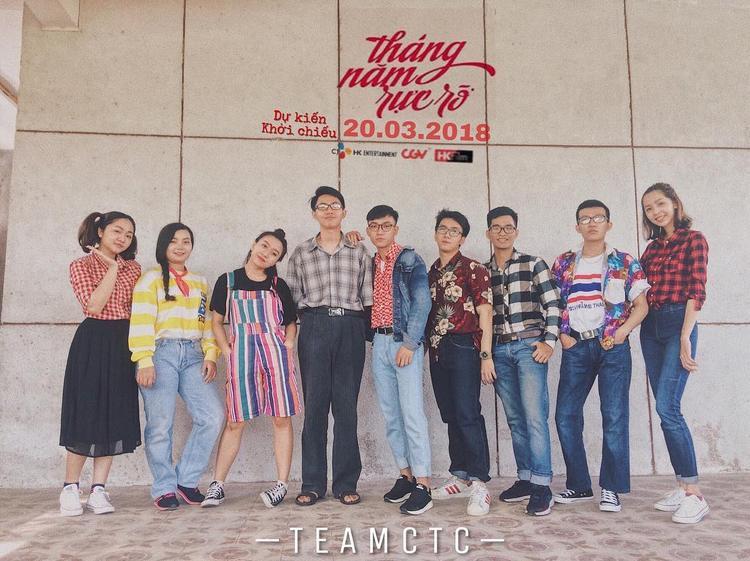 """Những bộ quần áo vintage dường như rất hợp với style """"Tháng năm rực rỡ"""". Ảnh: phphuongvi__."""