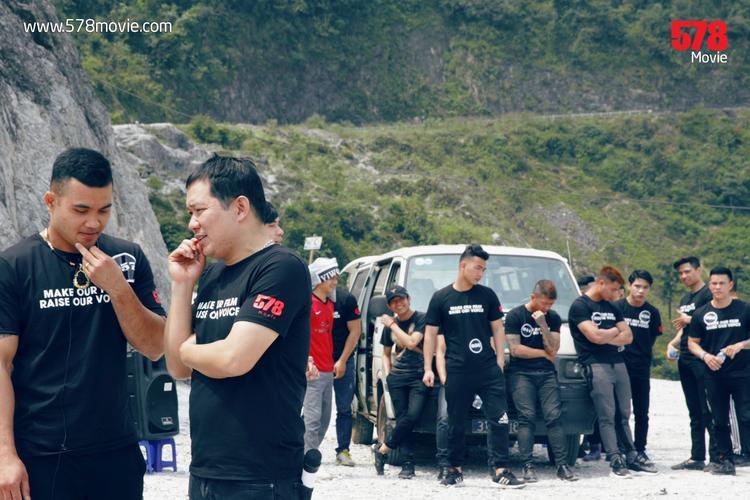 Phim hành động Việt 578 tổ chức casting tại địa điểm hiểm trở để thử thách 100 ứng viên