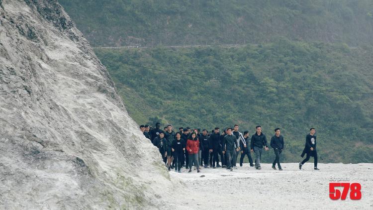 Địa điểm casting tại Đèo Đá Trắng (Mai Châu, Hòa Bình).