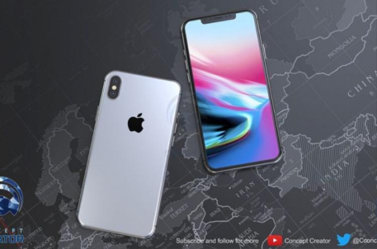 Chiếc iPhone X Plus trong hình dung của Concept Creator không có nhiều thay đổi về thiết kế so với iPhone X. Tuy nhiên, theo tác giả, nó được trang bị màn hình kích thước lớn hơn.
