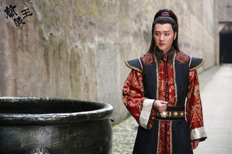 """Tạo hình nhân vật Cao Trường Cung trong """"Lan Lăng Vương"""". Cao Trường Cung là tướng lĩnh và là hoàng thân nhà Bắc Tề"""