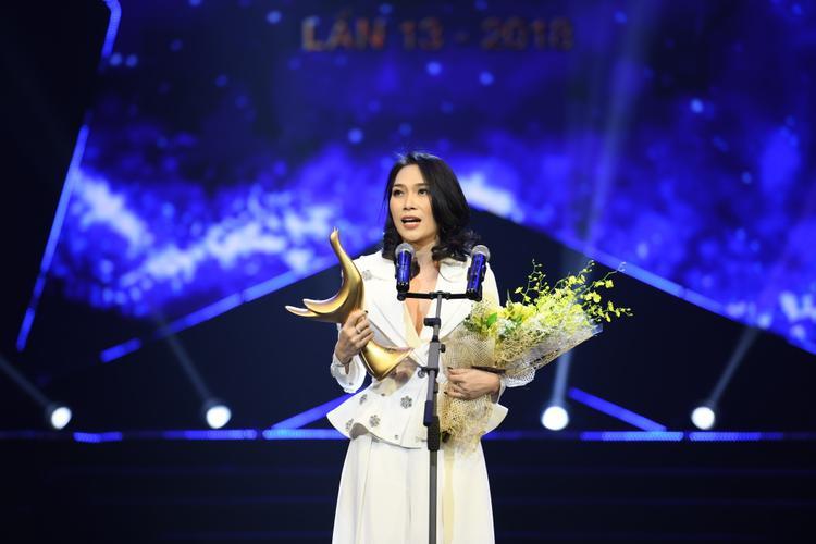 Mỹ Tâm chia sẻ cô muốn giành giải thưởng này cho các nghệ sĩ trẻ, đặc biệt là các nhạc sĩ từng làm việc với mình như Khắc Hưng, Phan Mạnh Quỳnh, Vũ Cát Tường.
