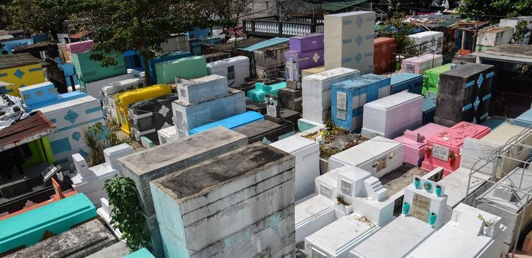 Nhiều thế hệ gia đình đã sinh sống tại Manila North, nghĩa trang lớn nhất và lâu đời nhất ở Manila. Theo thống kê, có khoảng 6.000 người của 800 gia đình đang sống trong nghĩa trang rộng 54 hecta cùng một triệu người đã khuất được chôn cất ở đây.