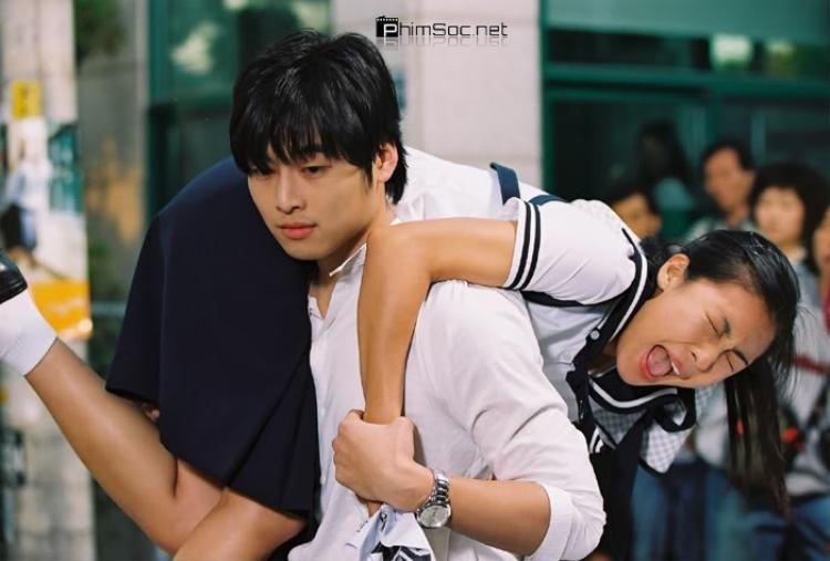 Hyung Jun đến tận trường của Ha Young để đòi nợ.