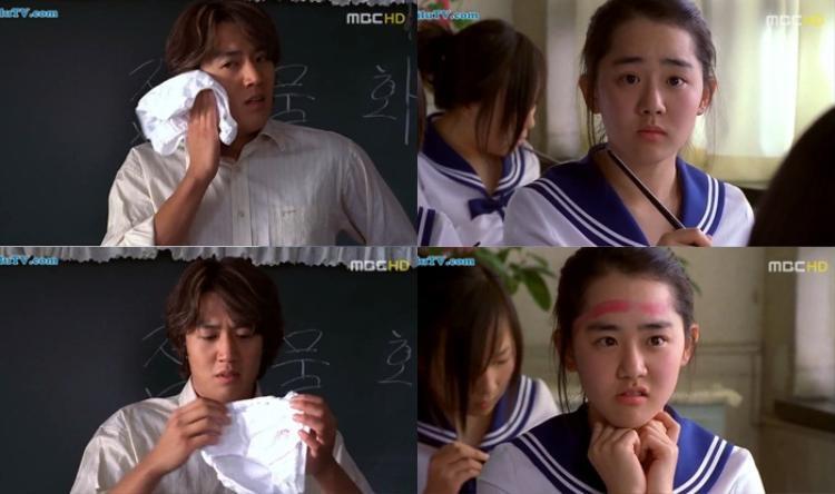 Trớ trêu hơn, Sang Min bất ngờ trở thành thầy giáo thực tập tại trường trung học của Bo Eun.