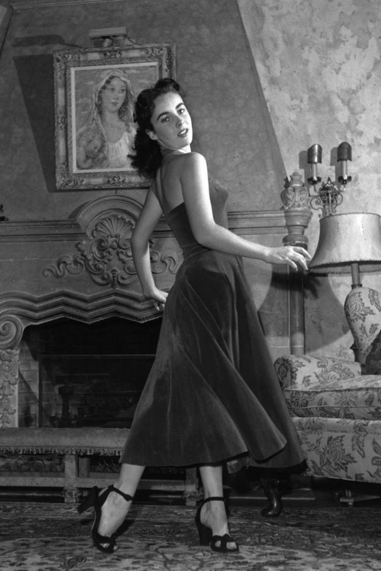 Elizabeth Taylor, 1950.