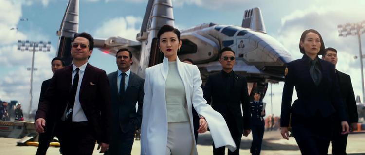 """Người đẹp Cảnh Điềm trong """"Pacific Rim: Uprising""""."""