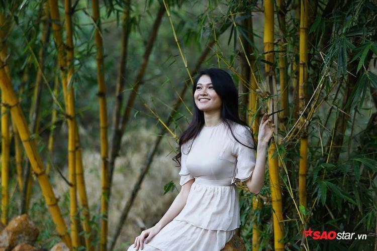 Người đẹp cuối cùng tham gia chạy Việt dã là Huỳnh Thúy Vi - Hoa khôi HSSV Cần Thơ, từng lọt vào Chung kết Hoa hậu Việt Nam 2016.