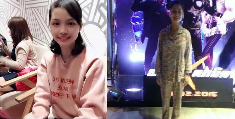 Mẹ bầu Kim Oanh cũng phải giật mình khi xem lại chính mình khi vừa sinh em bé xong.