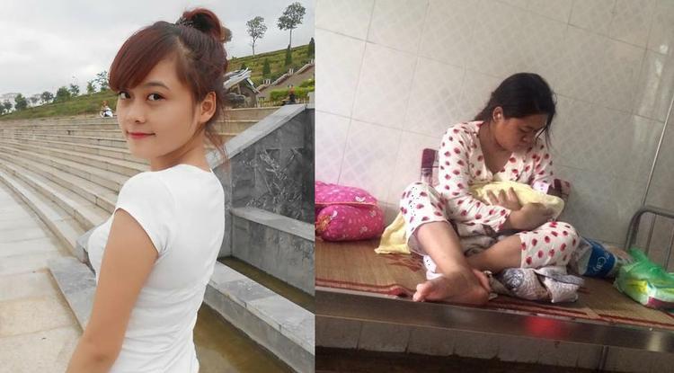 Mẹ bỉm sữa Trang Đào khi chưa lấy chồng và sau sinh em bé.