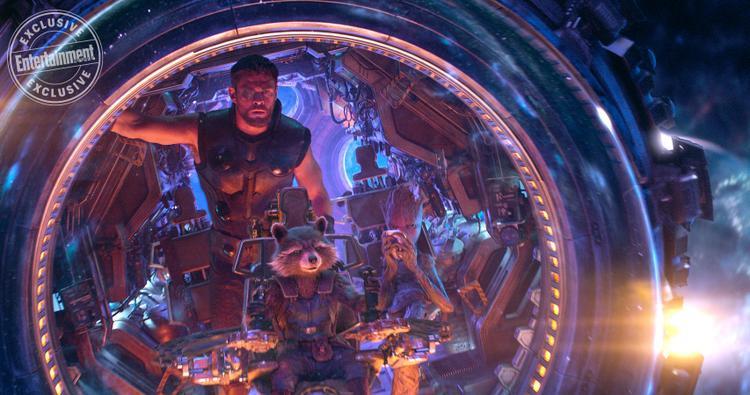 Rò rỉ đoạn clip tiết lộ cuộc gặp gỡ của Thor và Guardians of the Galaxy trong Avengers: Infinity War