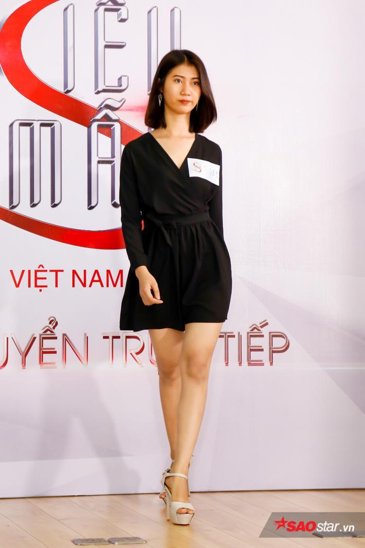 Thí sinh mang số báo danh 6001 có tên đầy đủ là Nguyễn Thị Ngọc Mỹ, sinh năm 1996 và hiện là sinh viên năm cuối của một trường đại học tại TP.HCM.