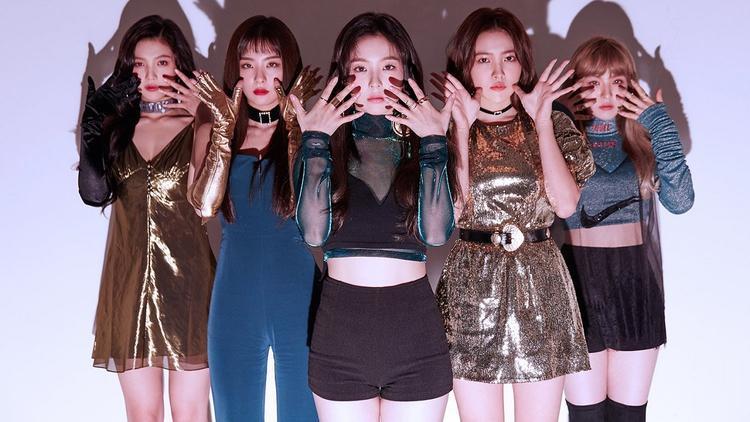 Red Velvet là đại diện nữ duy nhất lọt vào top 5.