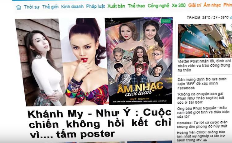 Lật mặt showbiz ám chỉ nghi vấn Mỹ Tâm từng huỷ show vì Sơn Tùng là nhân vật trung tâm của poster?