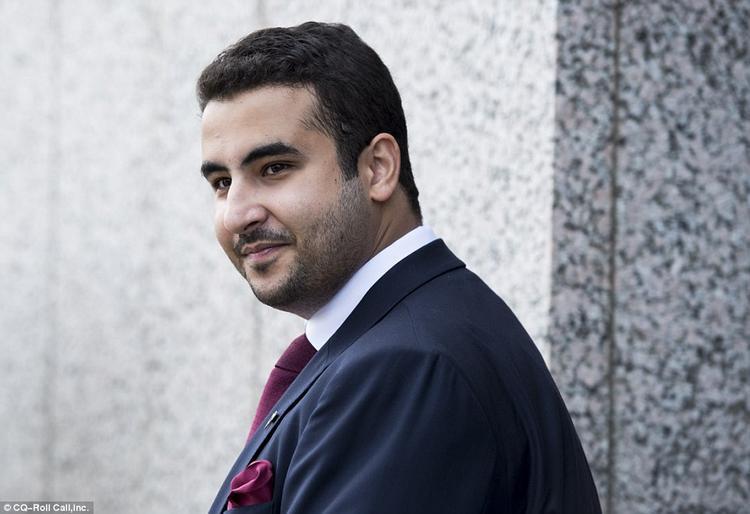 Hoàng tử Khalid bin Salman al-Saud, tuy mới 28 tuổi nhưng đã sở hữu cơ ngơi bất động sản khổng lồ. Ảnh: CQ-Roll Call