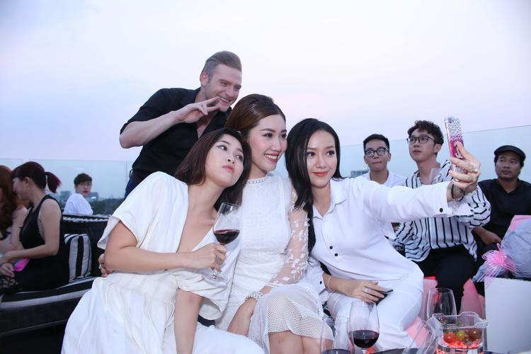 Băng Di, Hoa hậu Kim Cương và Kyo York.