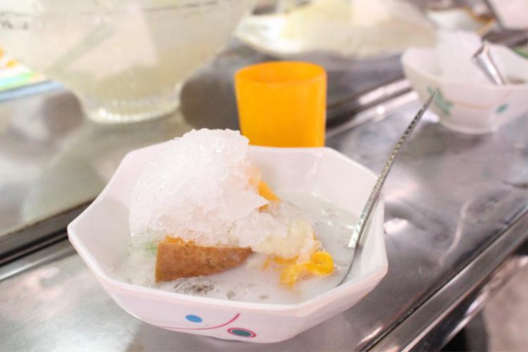 Món chè Campuchia vô cùng độc lạ.