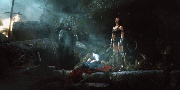 """Ảnh được cắt ra từ phim """"Batman v Superman: Dawn of Justice""""."""