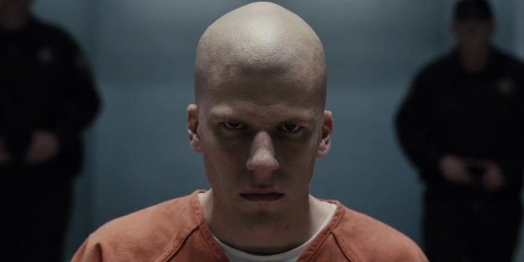 "Nhân vật Lex Luthor trong ""Batman v Superman: Dawn of Justice""."