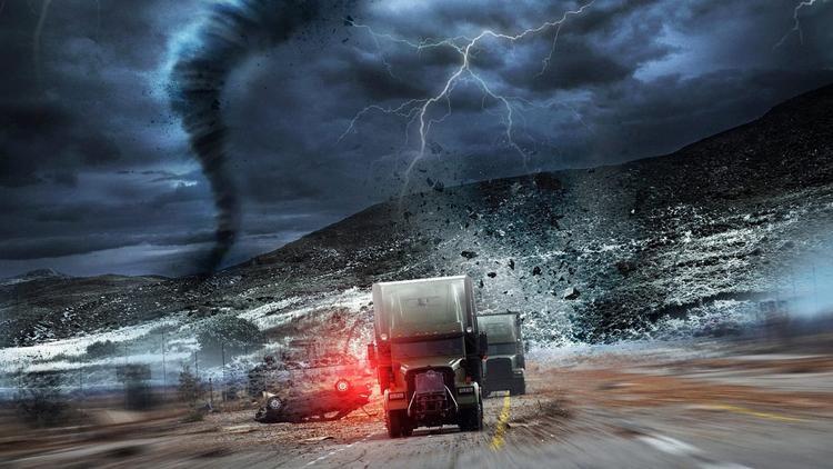 'Vụ cướp trong tâm bão': Khi thiên tai và nhân họa cùng ập đến