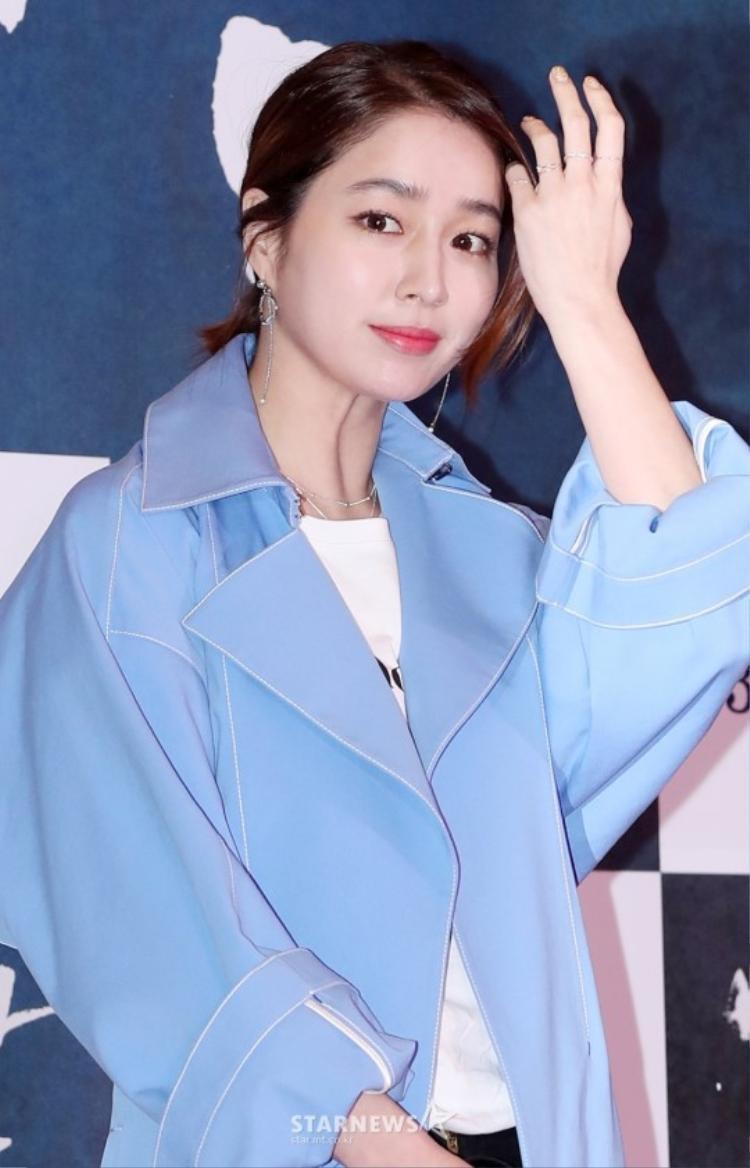 Phu nhân của tài tử Lee Byung Huyn - Nữ diễn viên Lee Min Jung.