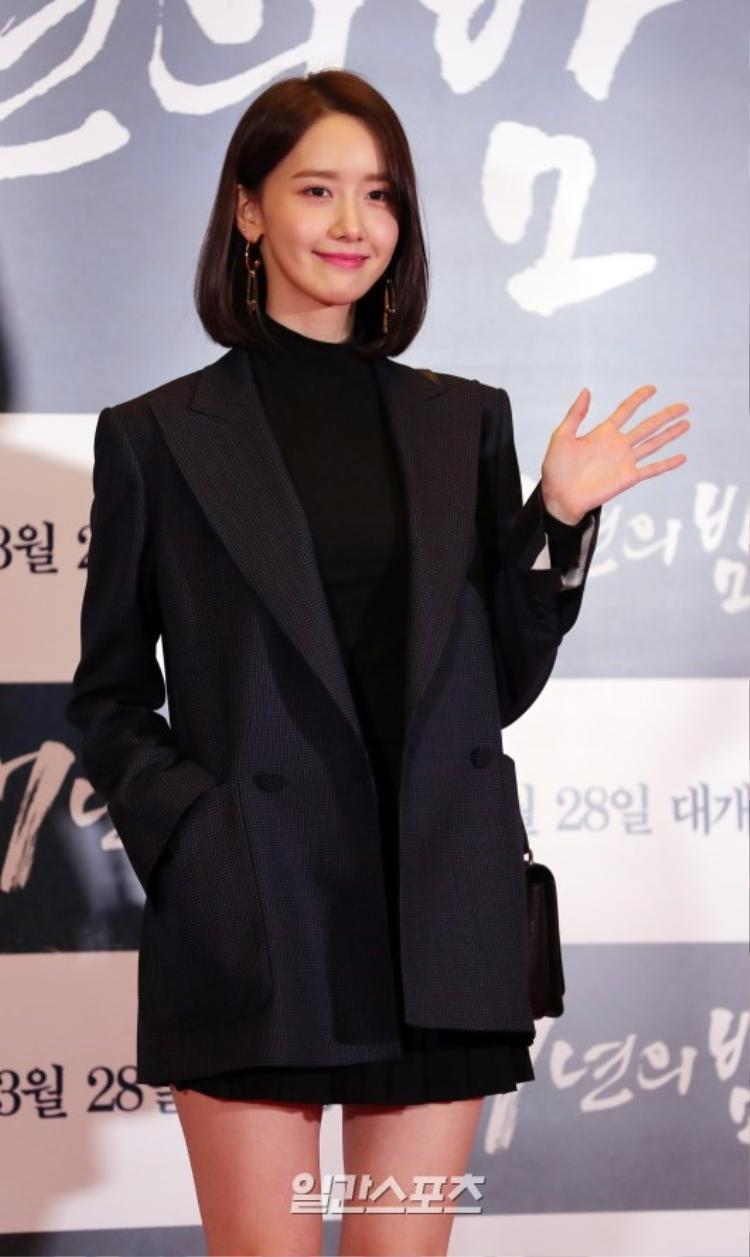 Ca sĩ kiêm diễn viên YooNa.
