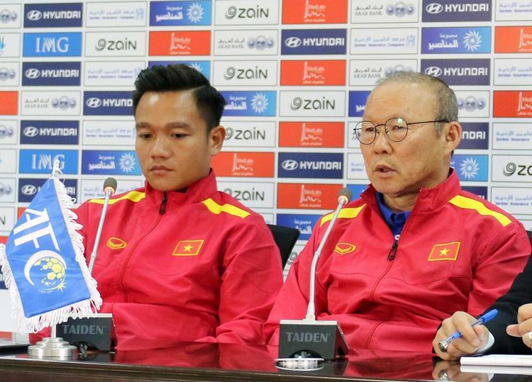 HLV Park Hang Seo muốn có 3 điểm trước Jordan.