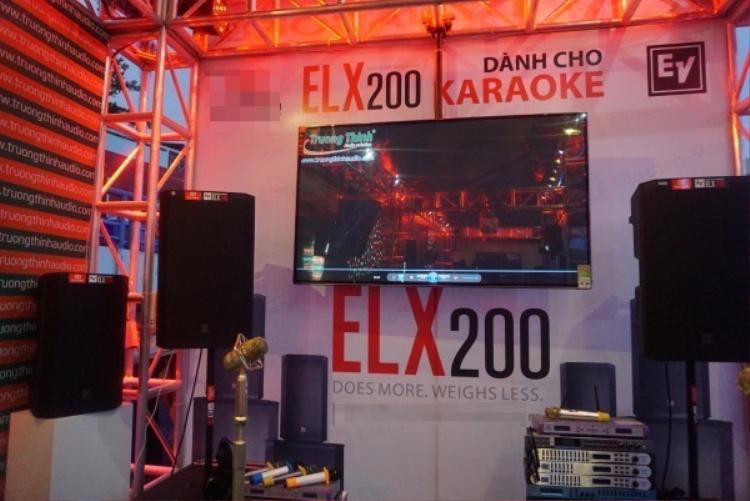 Loa khủng cho phòng karaoke Electro-Voice ELX200 ra mắt tại Việt Nam