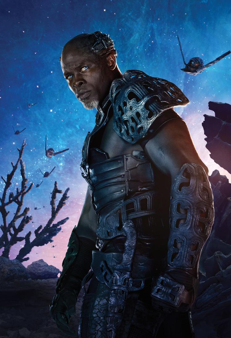 Djimon Hounsou(Blood Diamond, Guardians of the Galaxy)