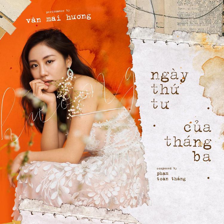 Văn Mai Hương khoe vai trần quyến rũ trong loạt hình single mới.