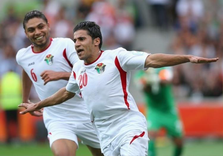 Hamzah Al-Dardour - chân sút số 1 của Jordan không thể góp mặt vì lí do chấn thương.