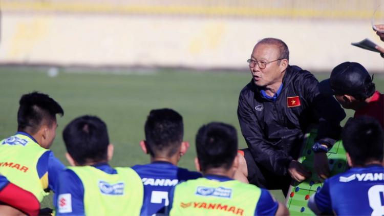 Thầy trò Park Hang-Seo tự tin giành tặng chiến thắng cho người hâm mộ