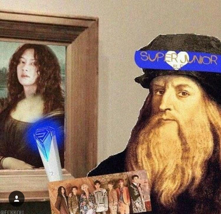 Khi Leonardo da Vinci là fan SuJu.