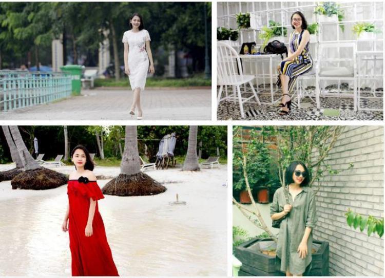 """Khác với hình ảnh """"tưng tửng"""" trên clip, ngoài đời Thanh Tuyền là một cô gái rất xinh đẹp và dịu dàng."""