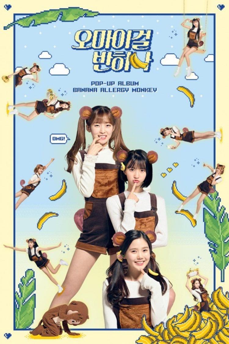 Oh My Girl sẽ comeback cùng ngày 2/4 với concept mới mẻ thông qua việc quảng bá nhóm nhỏ. Bài hát chủ đềBanana Allergy Monkey sẽ do unitHyojung, Binnie, Arin thể hiện. Các thành viên còn lại sẽ hát ca khúc b-side Hadeola. Sẽ có 2 câu chuyện kết nối giữa 2 bài hát. Cùng chờ xem, Oh My Girl có làm nên chuyện lần này không nhé!