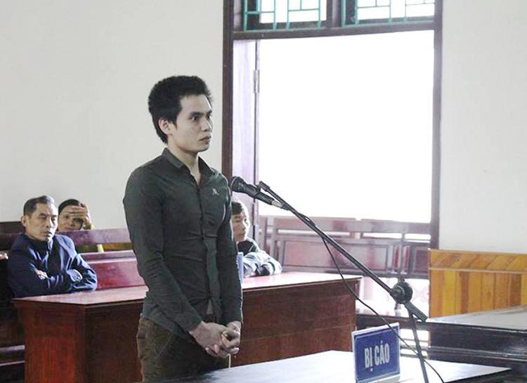 Bị cáo Thắng tại phiên tòa - (Ảnh Linh Nhi).