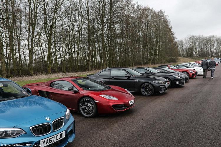 Ngoài ra, trong buổi offline đặc biệt này còn có sự xuất hiện của 2 chiếc Koenigsegg Ageras,2 Ferrari F50s, 1 Ferrari Enzo, 1 Bugatti Veyron, 1 Pagani Zonda F và 1 Aston Martin One-77.