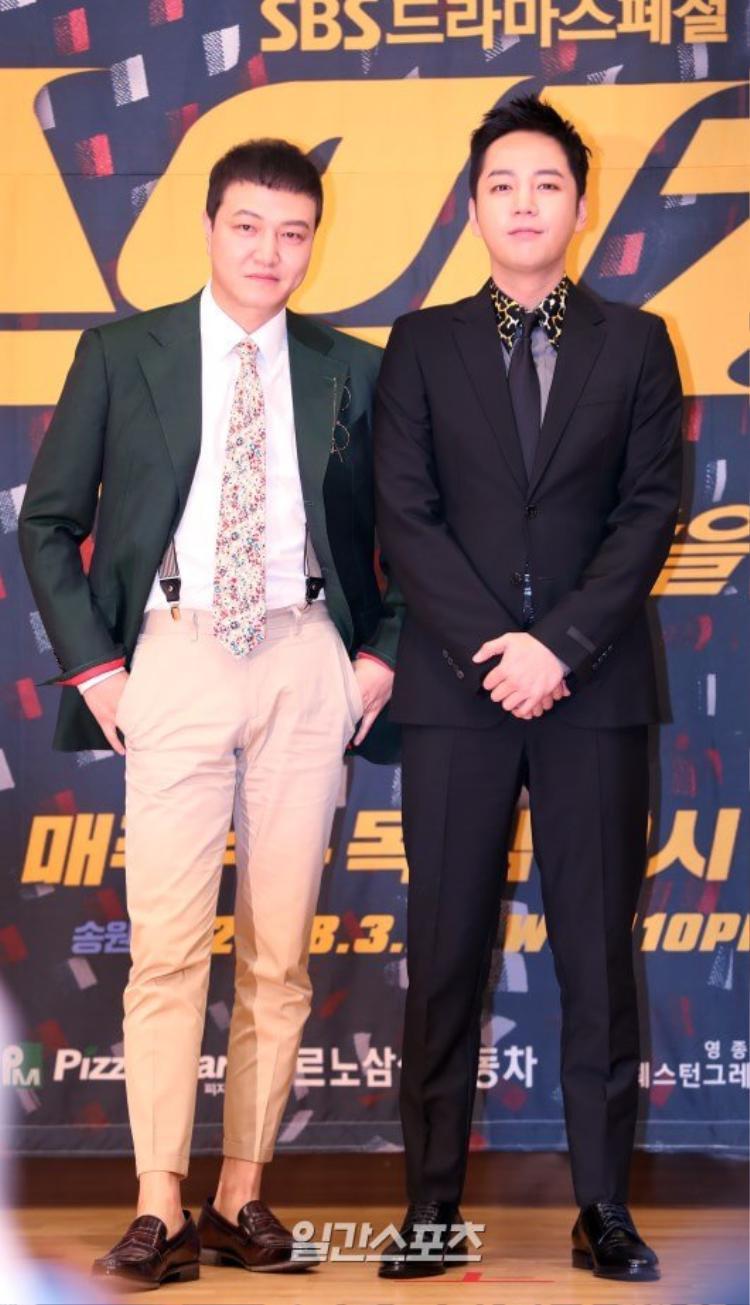 Jang Geun Suk  Han Ye Ri đẹp đôi tại họp báo ra mắt phim 'Switch'