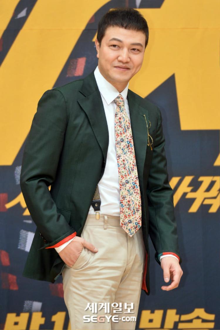 Diễn viên gạo côi Jung Woong In.