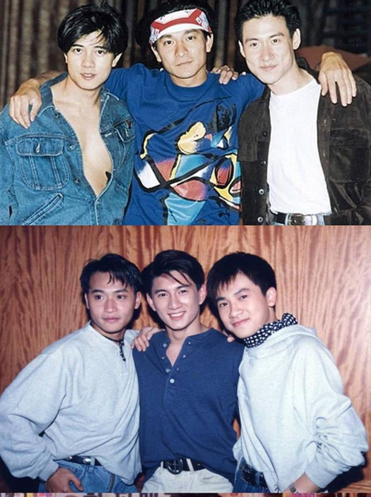 Dàn thiên vương TVB đình đám Quách Phú Thành - Lưu Đức Hoa - Trương Ngọc Hữu và Tiểu Hổ Đội Trần Chí Bằng - Ngô Kỳ Long - Tô Hữu Bằng.