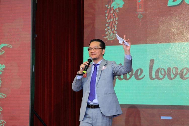 Ông Trần Văn Liêng - đối thủ tranh ghế ở VFF với bầu Tú.