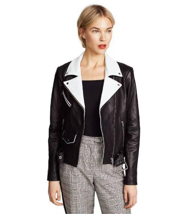 Các kiểu áo jacket, mang hơi hướng biker mạnh mẽ…