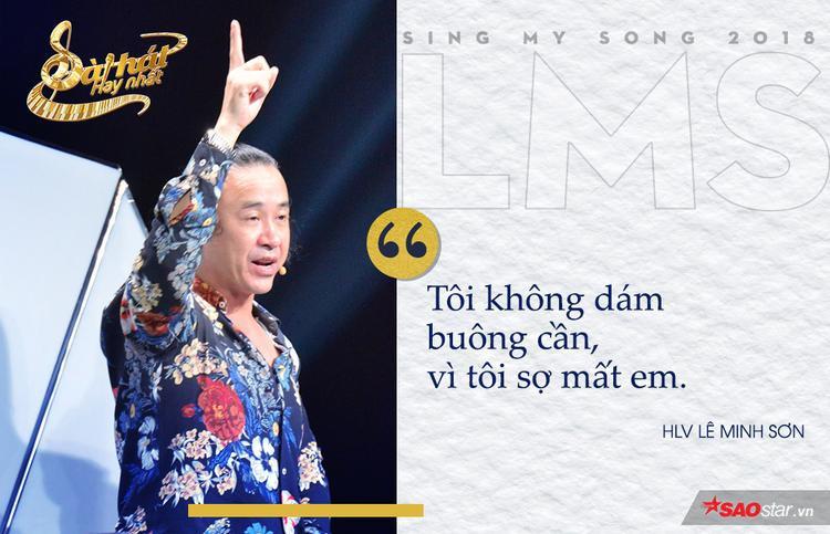 """Dù biết Trần Khánh Ly sở hữu màu sắc của HLV Giáng Son, song nhạc sĩ À í a vẫn dành sự yêu mến cho giai điệu ca khúc Hoa và nắng. Cuối cùng, chiến thuật """"ôm cần"""" của anh đã thuyết phục được cô nàng."""